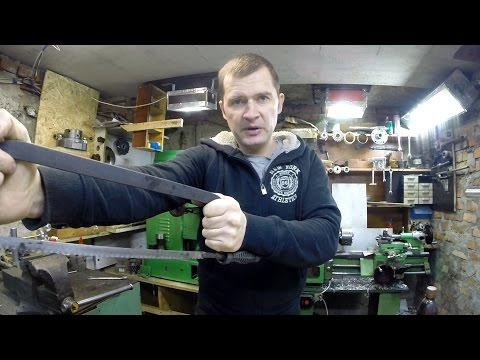 Как пилить ножовкой по металлу - 21 век на дворе