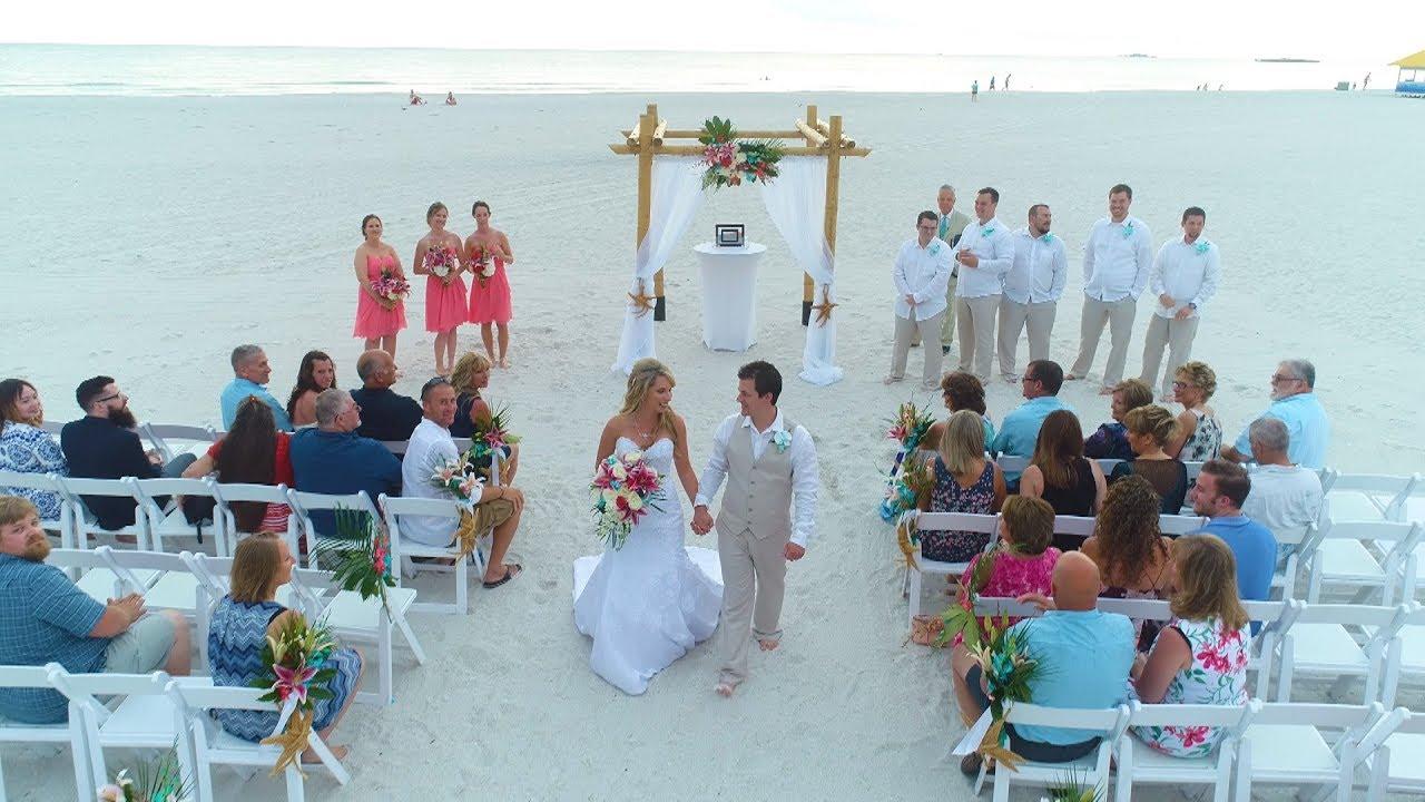 Wedding Preview Sirata Beach Resort Elicia James