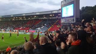 Blackburn Rovers vs Aston Villa September 2018 93min free kick