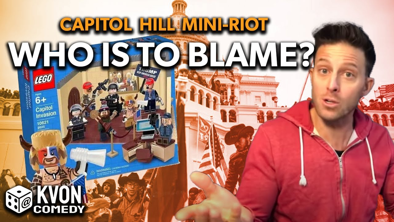 Capitol Hill Riot - Who is to Blame? (comedian K-von breaks it down)