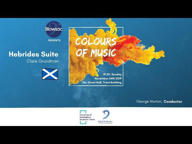 🎵 Wind Orchestra: 🏴 Hebrides Suite — Clare Grundman