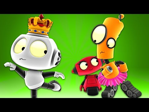 Rob The Robot & Green Swan | Early Learning Videos Animated Cartoons
