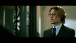 Sexy Johnny Depp speaking french in a cameo role (English subtitles in description)
