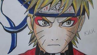 Иван КИН how to draw Naruto-как нарисовать Наруто аниме цветными карандашами!ナルトを描画する方法(channel Иван КИН https://www.youtube.com/channel/UCGXvX84DS7DajxO4aWabFpA заходите на мой сайт и смотрите новые видео и рисунки! visit my..., 2014-12-15T15:05:04.000Z)