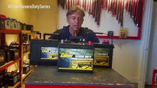 Crown Severe Duty Battery Series - Maintenance Free
