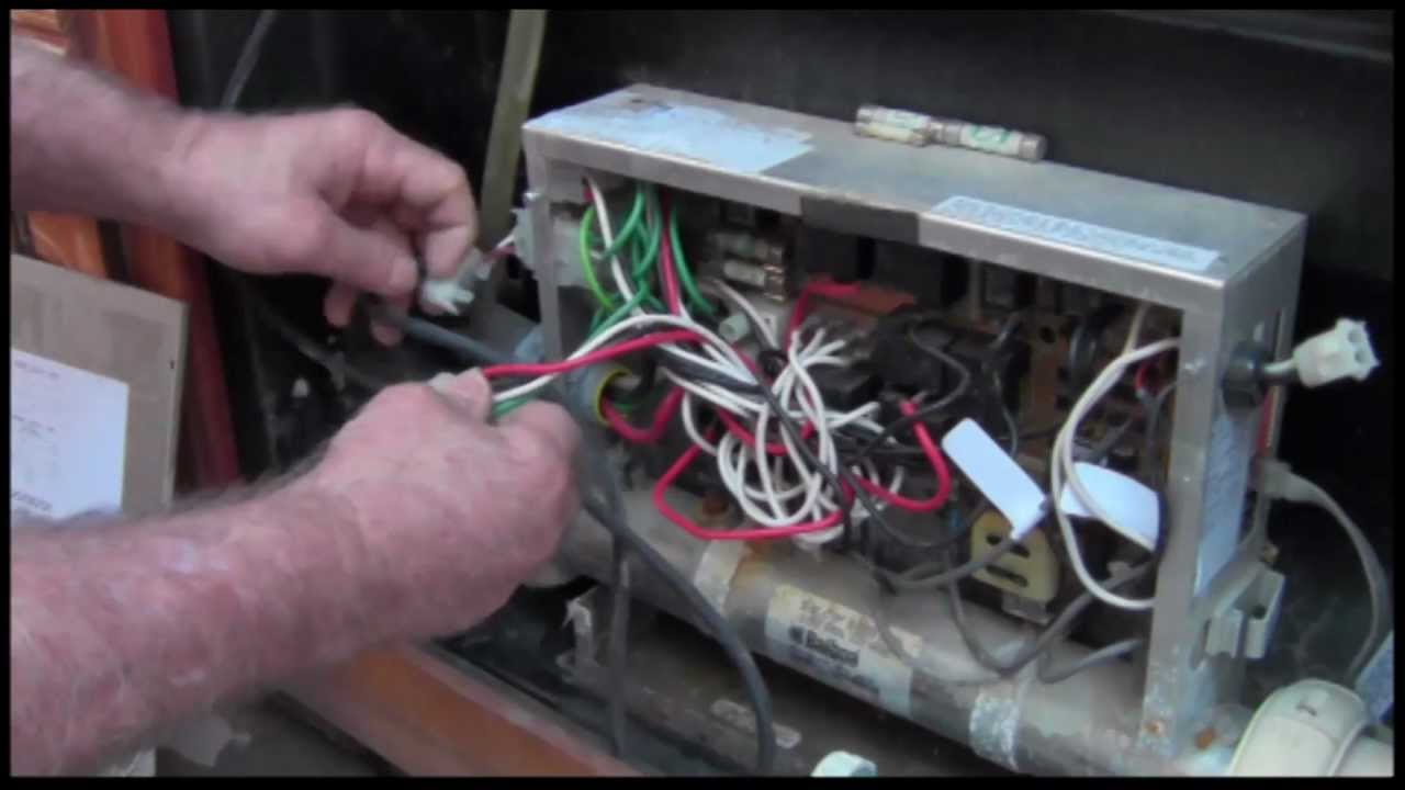 Fix your own hot tub #4 D 115  YouTube
