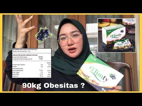 Curhat Frustasi Mulai Obesitas   Flimty Fiber Drink Review   Bahasa Indonesia   DienDiana