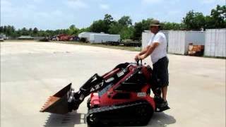 Sold! 2007 Mertz Boxer 320 Ride On Mini Skid Steer Loader W/ Bidadoo.com
