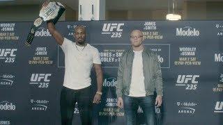 UFC 235: Media Day Faceoffs