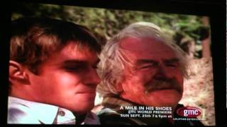 The Waltons, John-Boy & Grandpa share a poignant moment