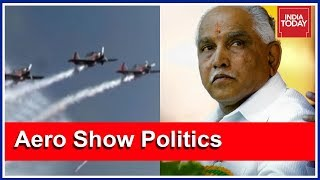 BJP's Yeddyurappa Breaks Silence On Aero Show Venue Row