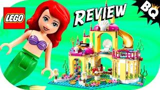 Lego Little Mermaid Ariel's Undersea Palace 41063 Disney Princess Review