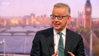 Chancellor of the Duchy of Lancaster Michael Gove on Brexit preparations and prorogation