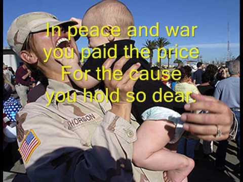 Thank You Soldiers Christmas Version.wmv - YouTube