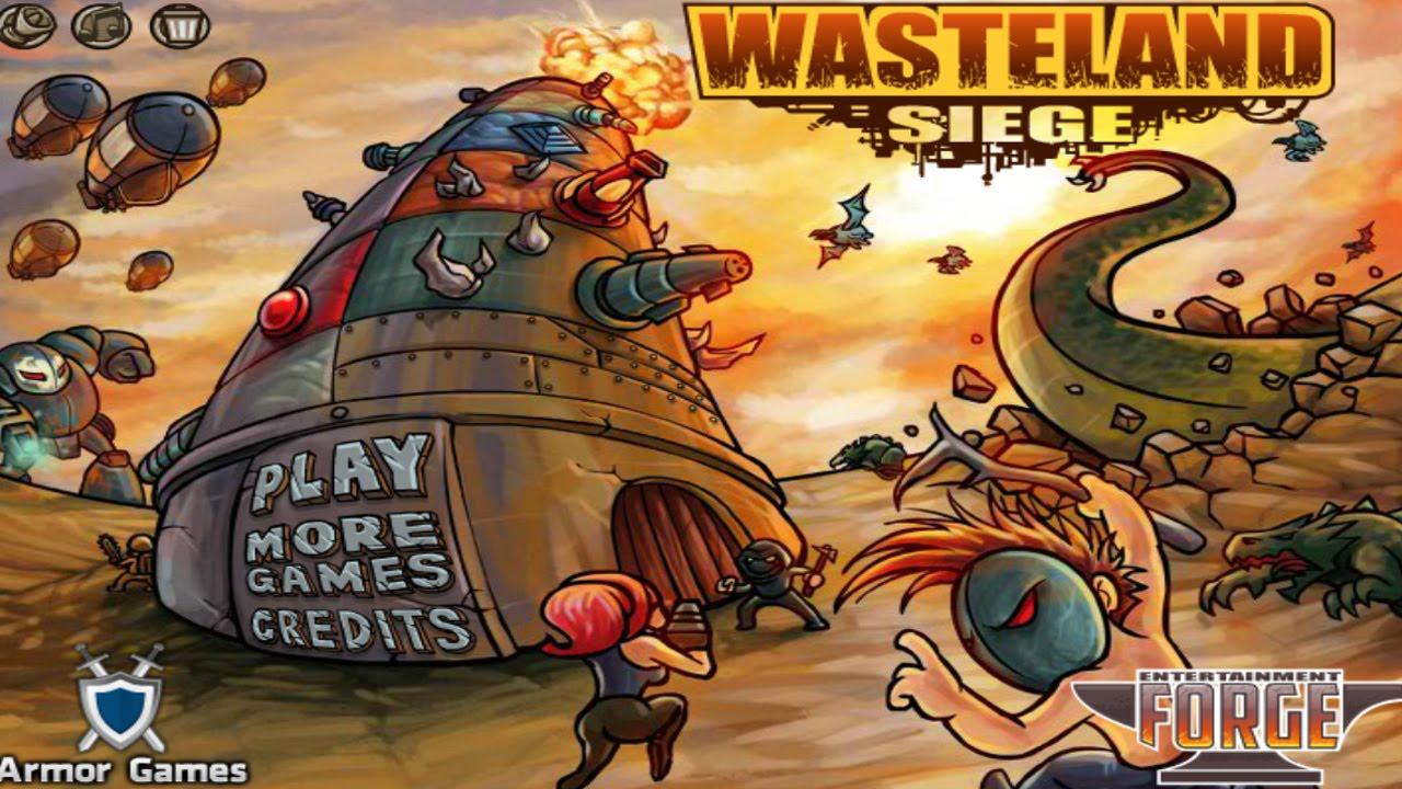 armor games wasteland siege walkthrough youtube