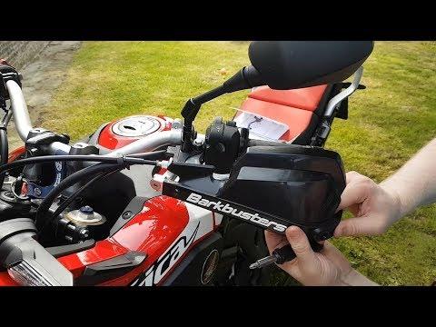 Motard-Adventure : Barkbusters VPS aluminium, des protège-mains renforcés