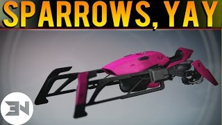 Sparrow Racing League - AMAZING NEW SPARROWS! - Sparrow Toolkit Opening