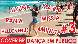 DANCING KPOP IN PUBLIC CHALLENGE & POP (Desafio Dançando em público) by Black Shine