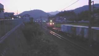 セノハチ EF67走行中解放
