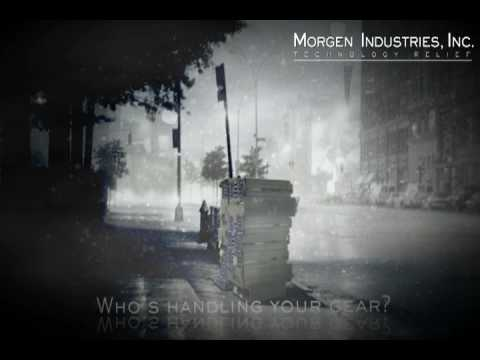 """Morgen Industries, Inc. """"Who's handling your gear?"""" Data Center Relocation"""