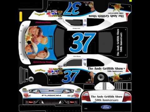 Time for Two More 2010 NASCAR Templates - YouTube