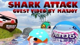 Agar.io Guest Video by MatJoy - SHARK ATTACK!!!