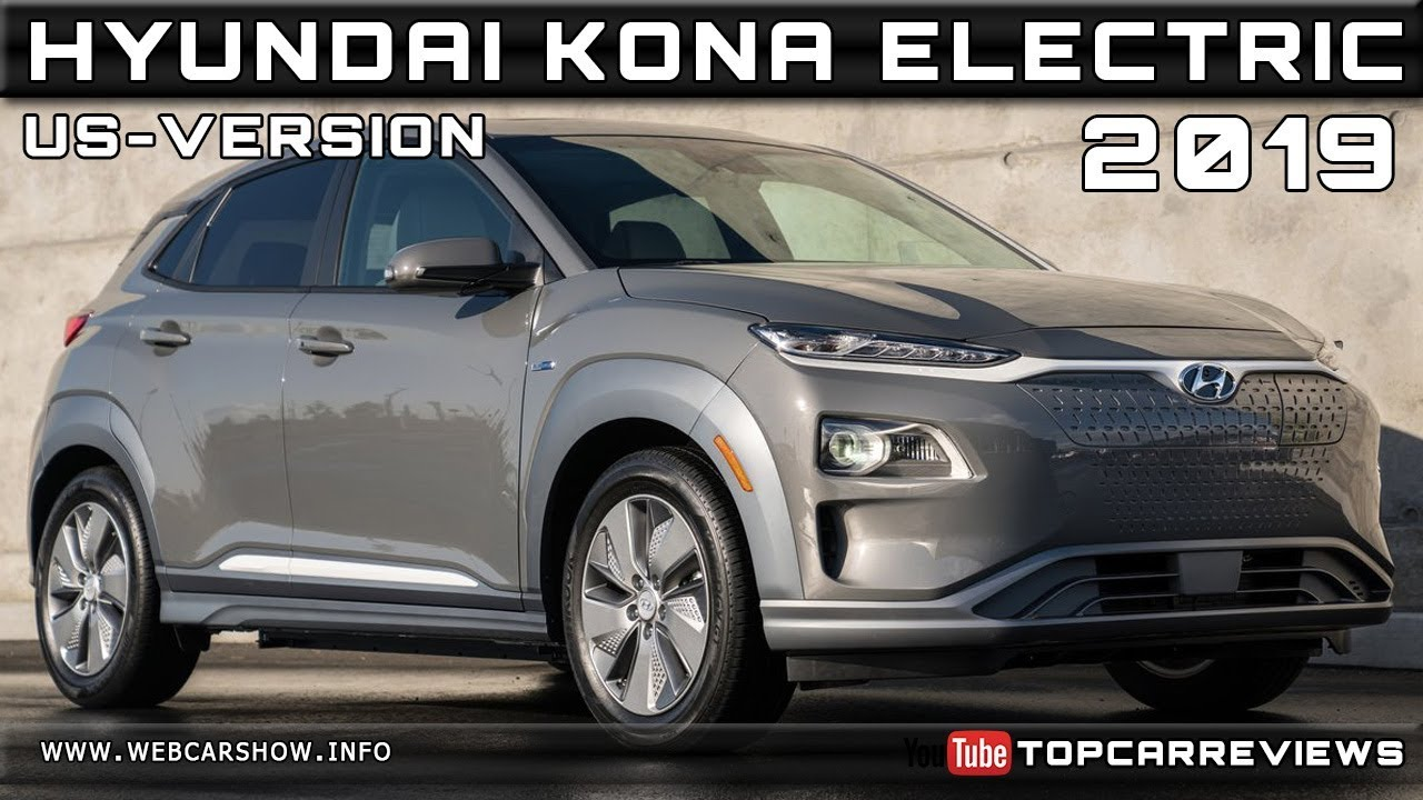 2019 Hyundai Kona Electric Us Version Review Rendered Price Specs Release Date