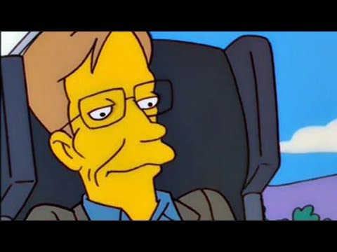 Stephen Hawking's One Request When He Appeared On The Simpsons