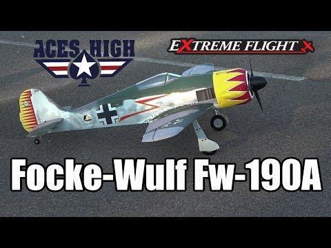 Extreme Flight/Aces High Focke-Wulf Fw-190A Maiden