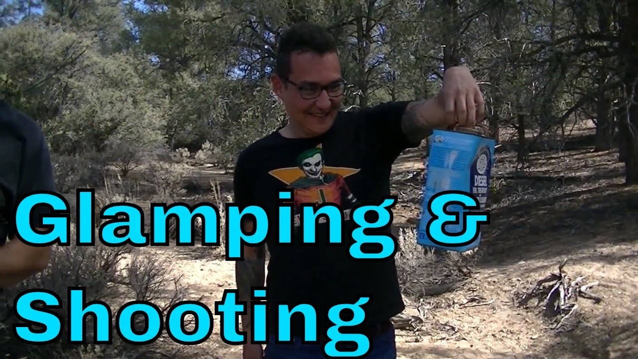 Glamping and Shooting Guns at Adams Ranch | BGM Weekends