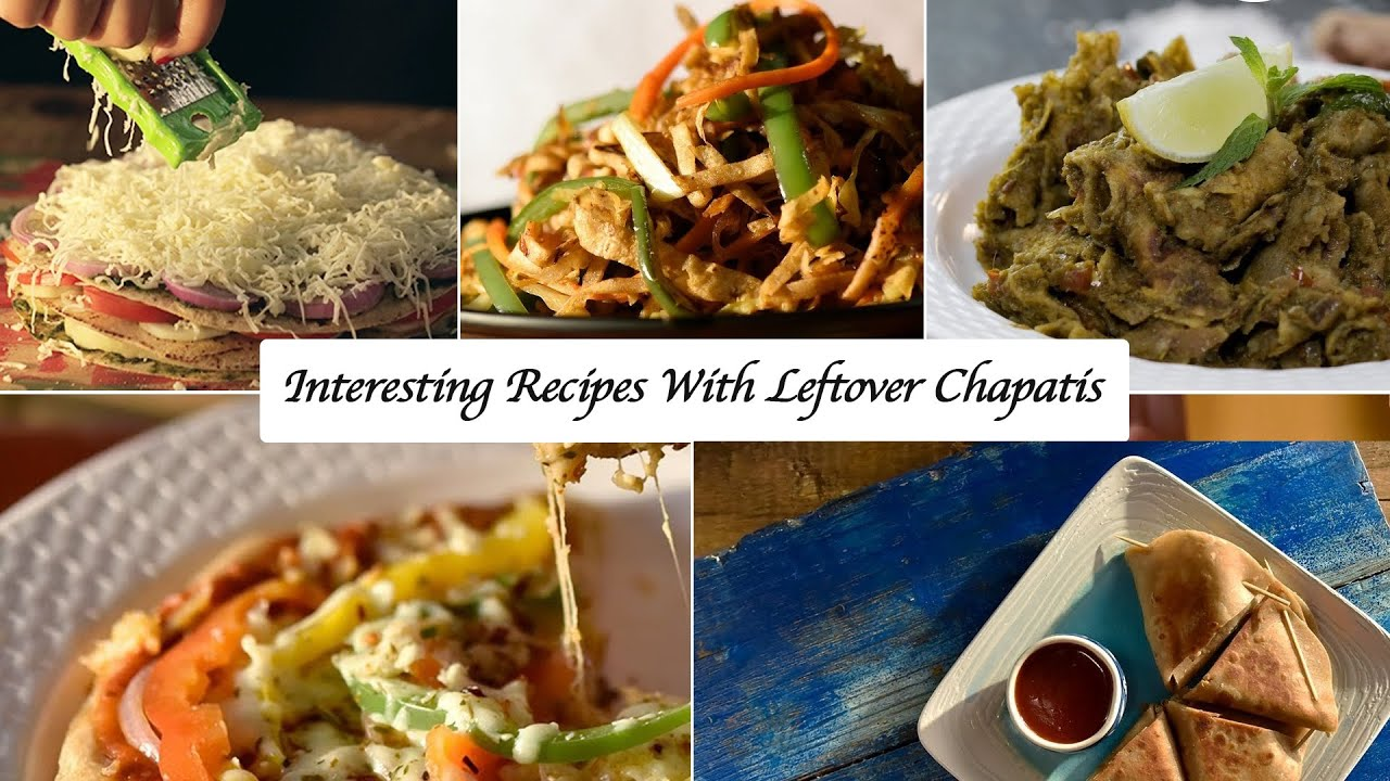 Interesting Recipes With Leftover Chapatis Recipesforlockdown Awesome Sauce India Stayhome Youtube