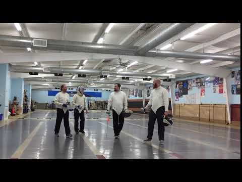 Fencing - Houston, Texas - Alliance Fencing Academy (The Four Musketeers)