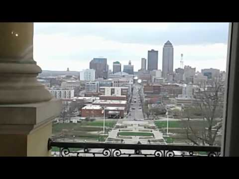 View of Downtown Des Moines from Iowa Capitol Building