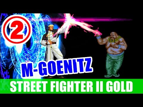 [2/2] M-GOENITZ - STREET FIGHTER II TURBO DASH PLUS SPECIAL LIMITED EDITION GOLD