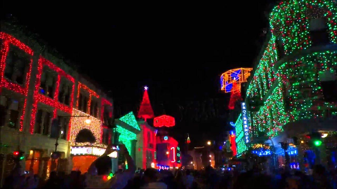 2014 osborne lights whats this nightmare before christmas at disneys hollywood studios - Nightmare Before Christmas Lights