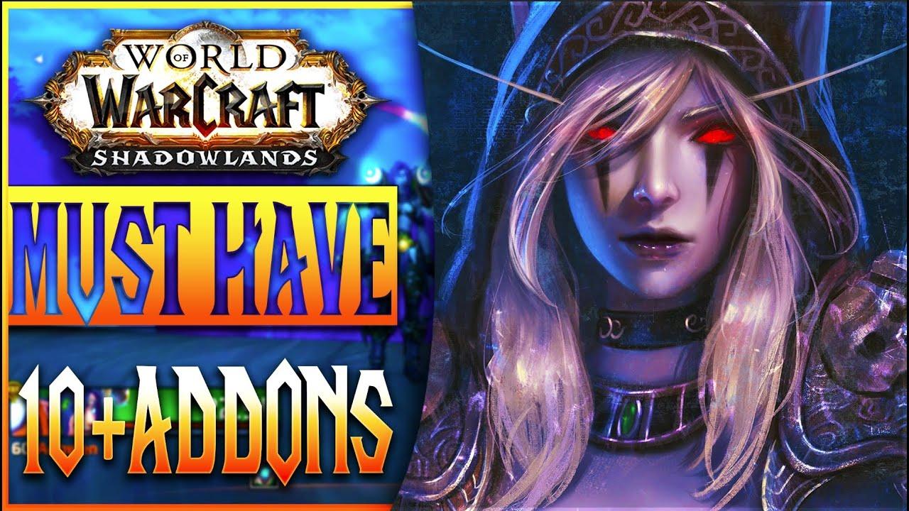 Download TOP 10 BEST WOW SHADOWLANDS ADDONS - World of Warcraft Best UI