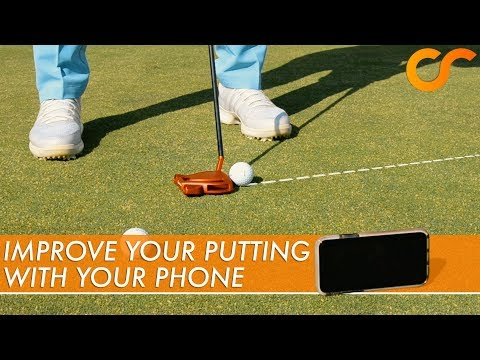 SIMPLE WAY TO IMPROVE YOUR PUTTING WITH YOUR PHONE