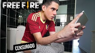 ME DIERON GANAS DE HACER CACA CUANDO ESTABA JUGANDO FREE FIRE *gracioso* | TheDonato