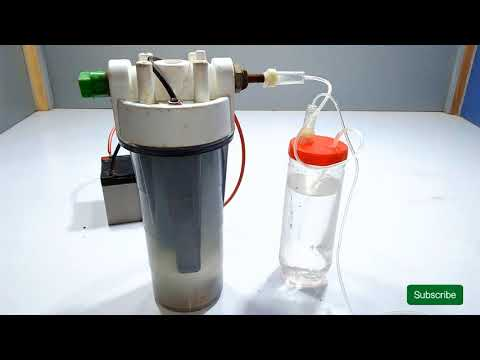 How to Make HHO Gas From Water   HHO Generator   Water to Fuel Converter
