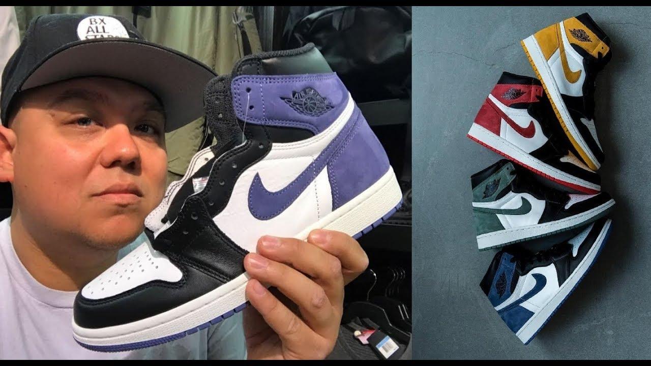 "wholesale dealer b8554 1d910 2018 Air Jordan 1 ""Best Hand in the Game"" Blue Moon Retro Sneaker Review"