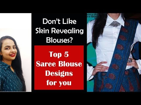 Cotton Daily Wear Saree Blouse Design For Women