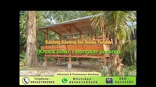 Download Video Spesialis Pembuat Kandang kambing dan domba MP3 3GP MP4