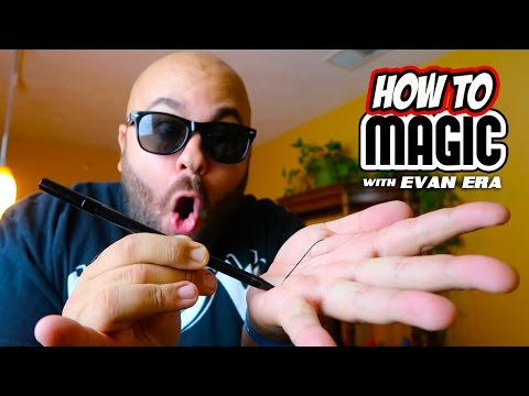 7 MAGIC PEN TRICKS!