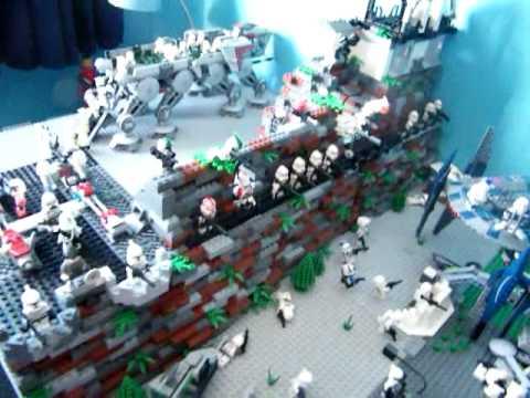 My lego star wars clone base youtube - Lego star wars base droide ...