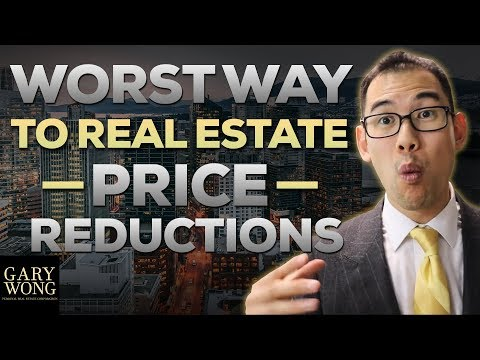 The Worst Way To Do Real Estate Price Reductions
