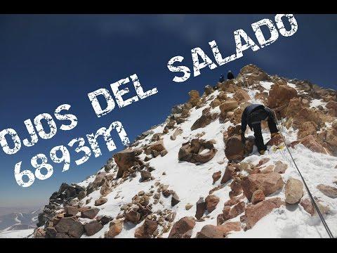 Ojos Del Salado - 6893 M - Atacama Desert - Chile 2017