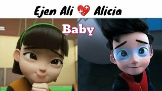 Ejen Ali love Alicia💕 new AMV 2020 {Justin Bieber - Baby ft. Ludacris}