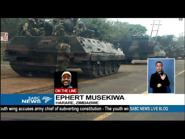 UPDATE: Coup rumours in Zimbabwe