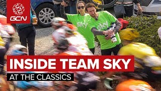 Dan Was Team Sky'S Insurance Policy | Behind The Scenes At The Tour Of Flanders