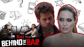 Brad & Angelina Divorce: Line Between Tough Parenting & Child Abuse | Ep 11 - Behind the Bar | TMZ